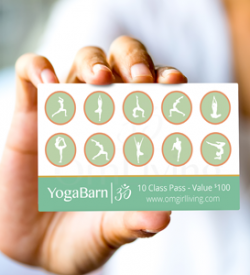 The 10-Punch Card That Doesn't Expire - Yoga Barn
