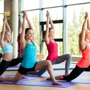 OmLiving Yoga Class