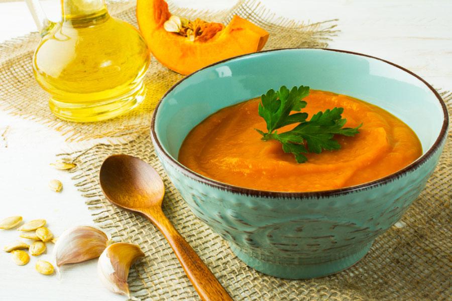 Bowl of Honey Roasted Vegetable Soup Recipe